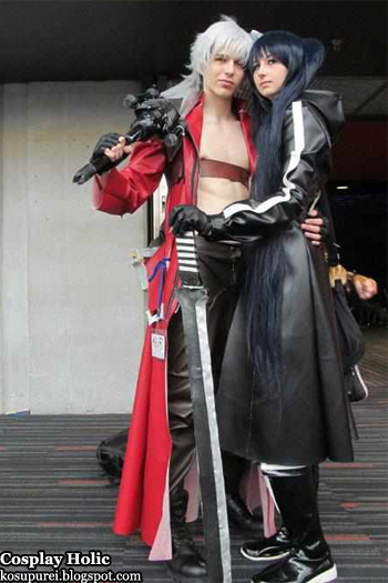 Dante and Black Rock Shooter