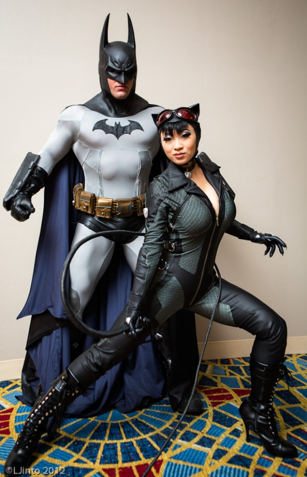 Awesome Batman and Catwoman Cosplay | Cool Cosplay